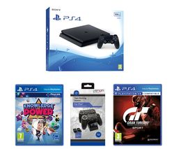 SONY PlayStation 4 Slim, Games & Accessory Bundle