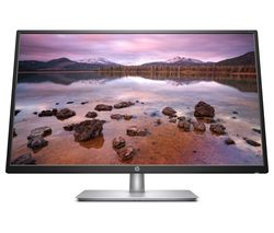 "HP 32s Full HD 31.5"" IPS LCD Monitor - Black & Silver"