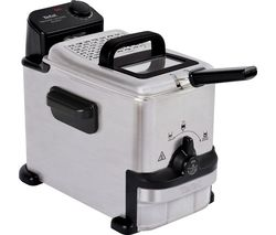Oleoclean Compact FR701640 Deep Fryer - Stainless Steel & Black