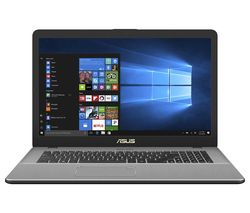 "ASUS Vivobook Pro N750UD 17.3"" Intel® Core™ i5 Laptop - 1 TB HDD & 128 GB SSD, Grey"