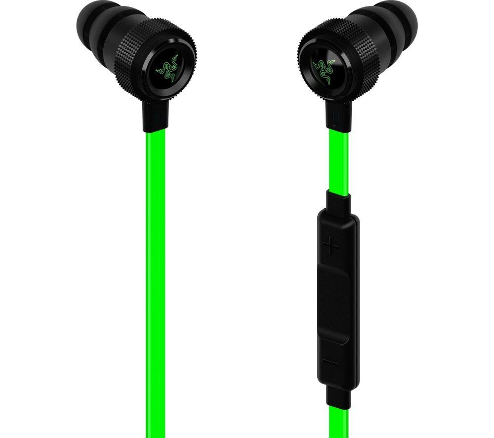 Image of RAZER Hammerhead Pro V2 Gaming Headset - Green & Black, Green