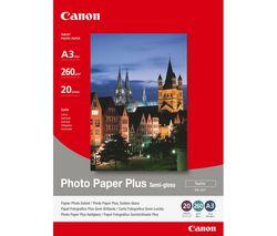 CANON SG-201 A3 Semi-Gloss Photo Paper - 20 Sheets
