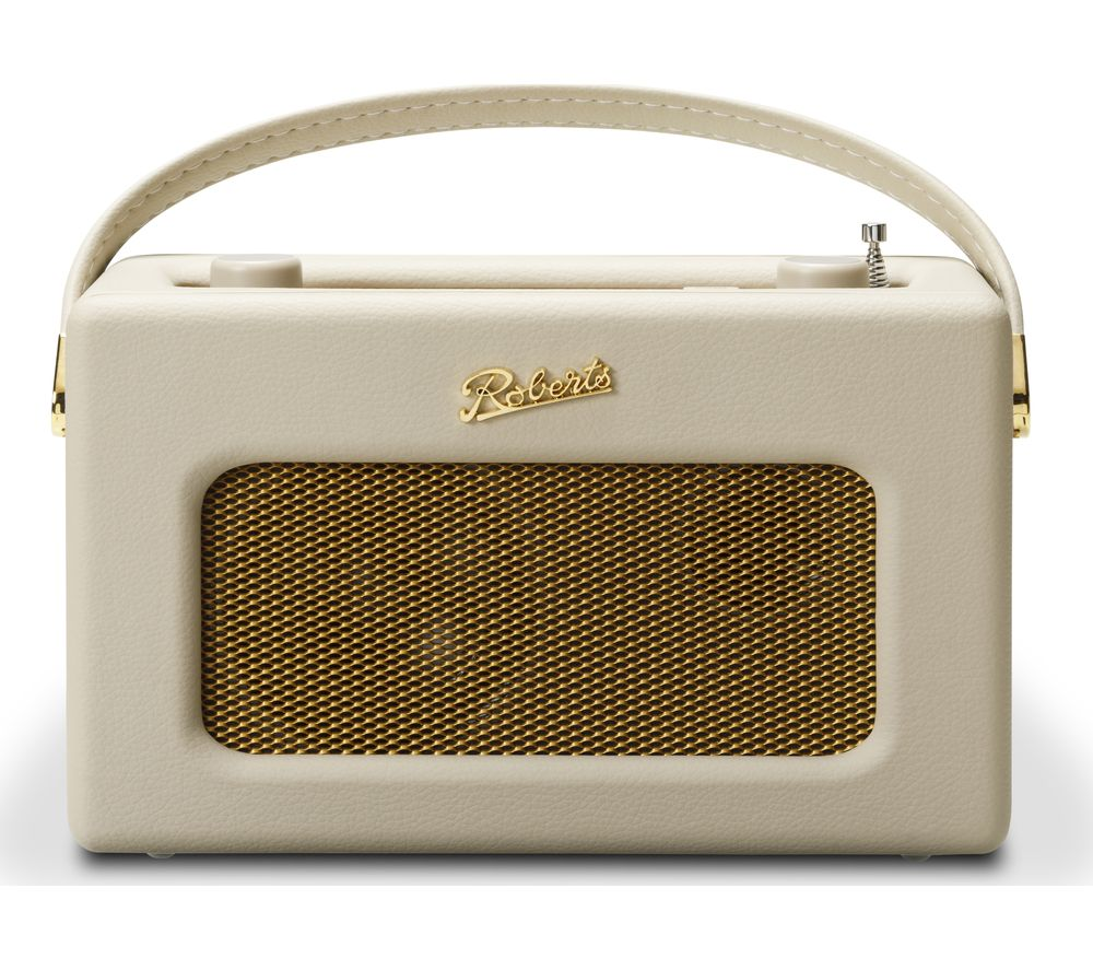 ROBERTS Revival iSTREAM3 Portable DAB+/FM Retro Smart Bluetooth Radio - Cream