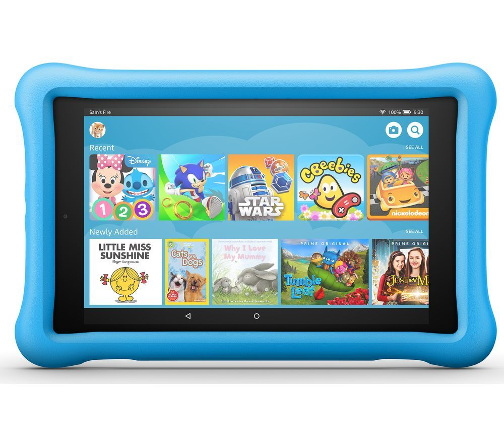 "AMAZON Fire HD 8"" Kids Edition Tablet (Oct 2018) - 32 GB, Blue"
