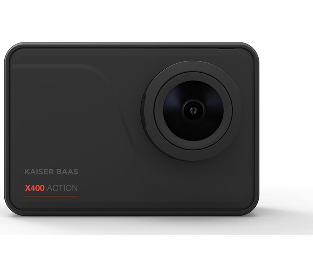 Image of KAISER BAAS X400 4K Ultra HD Action Camera - Black, Black