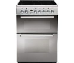 INDESIT DD60C2CX.1 60 cm Electric Ceramic Cooker - Mirror