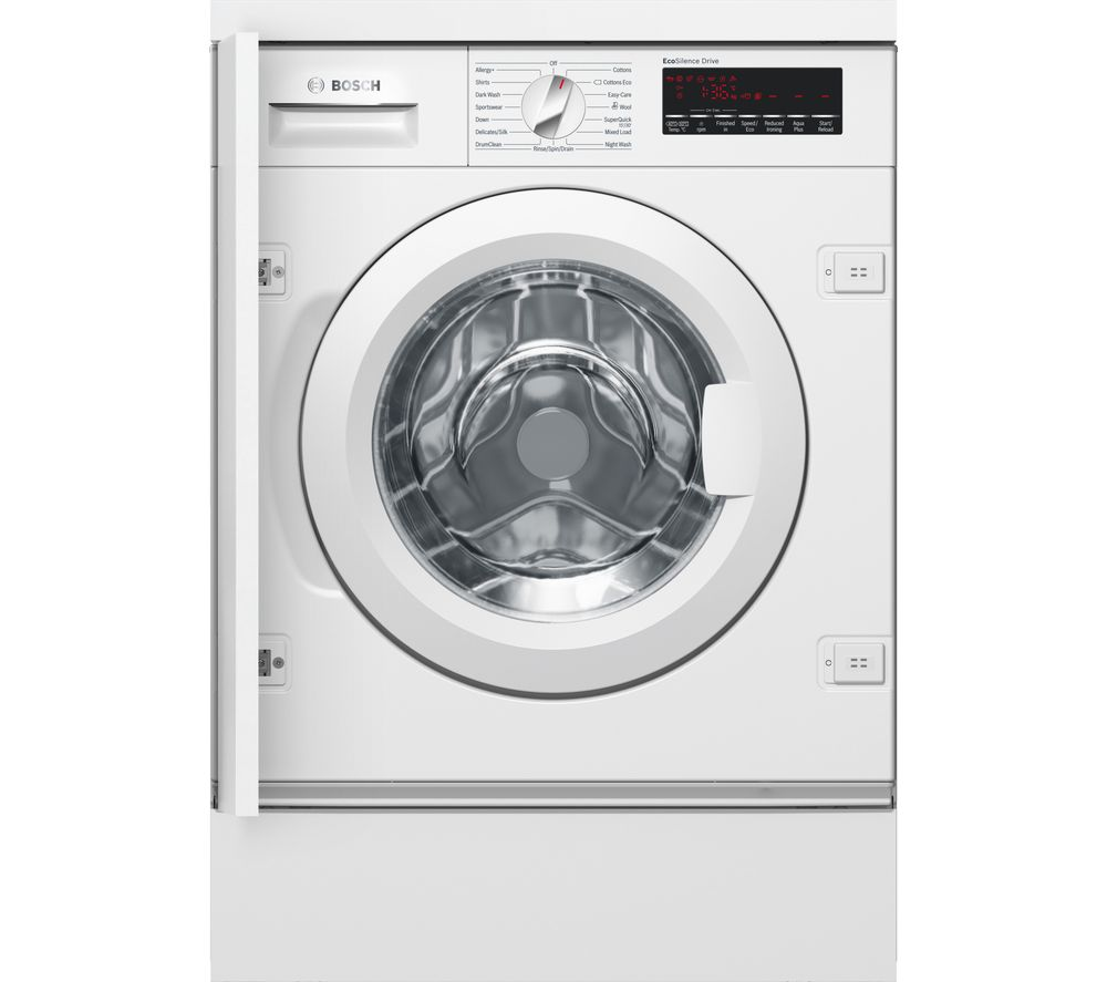 BOSCH Serie 8 WIW28500GB Integrated 8 kg 1400 Spin Washing Machine