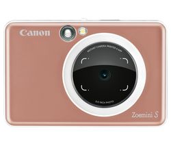 Zoemini S Instant Camera - Rose Gold