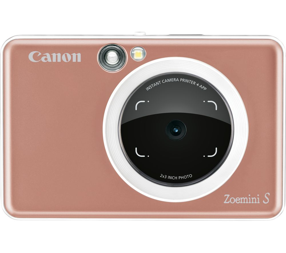 CANON Zoemini S Instant Camera - Rose Gold