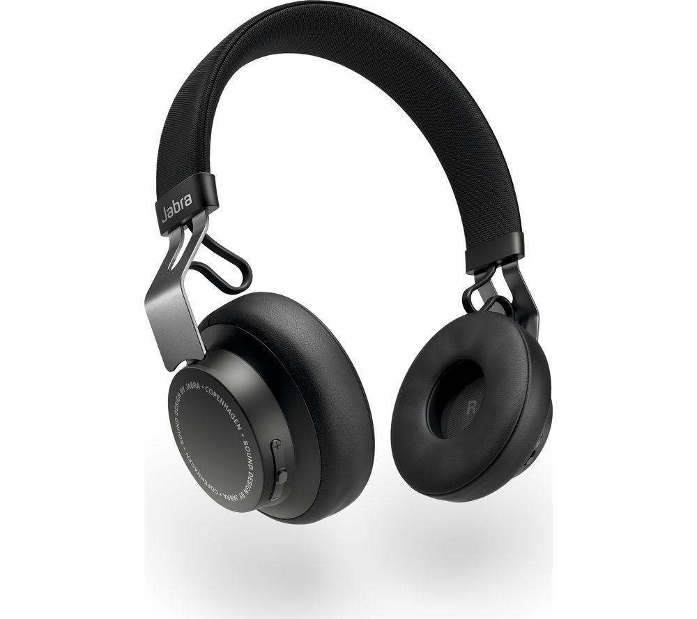 JABRA Move Style Wireless Bluetooth Headphones - Black