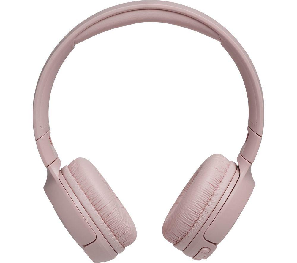 JBL Tune 500BT Wireless Bluetooth Headphones - Pink