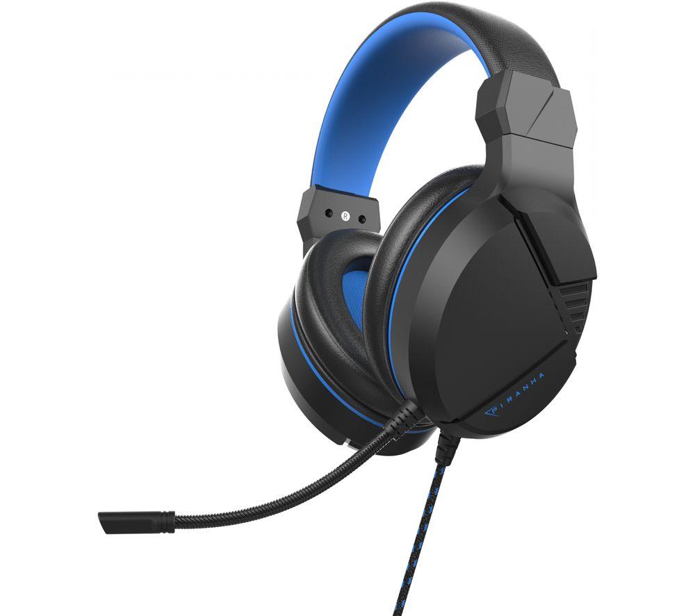 Image of HP40 Gaming Headset - Black & Blue, Black