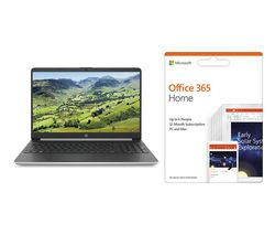 MICROSOFT Pavilion 15s-fq1505sa Intel® Core™ i5 Laptop & Office 365 Home Bundle - 256 GB SSD, Silver