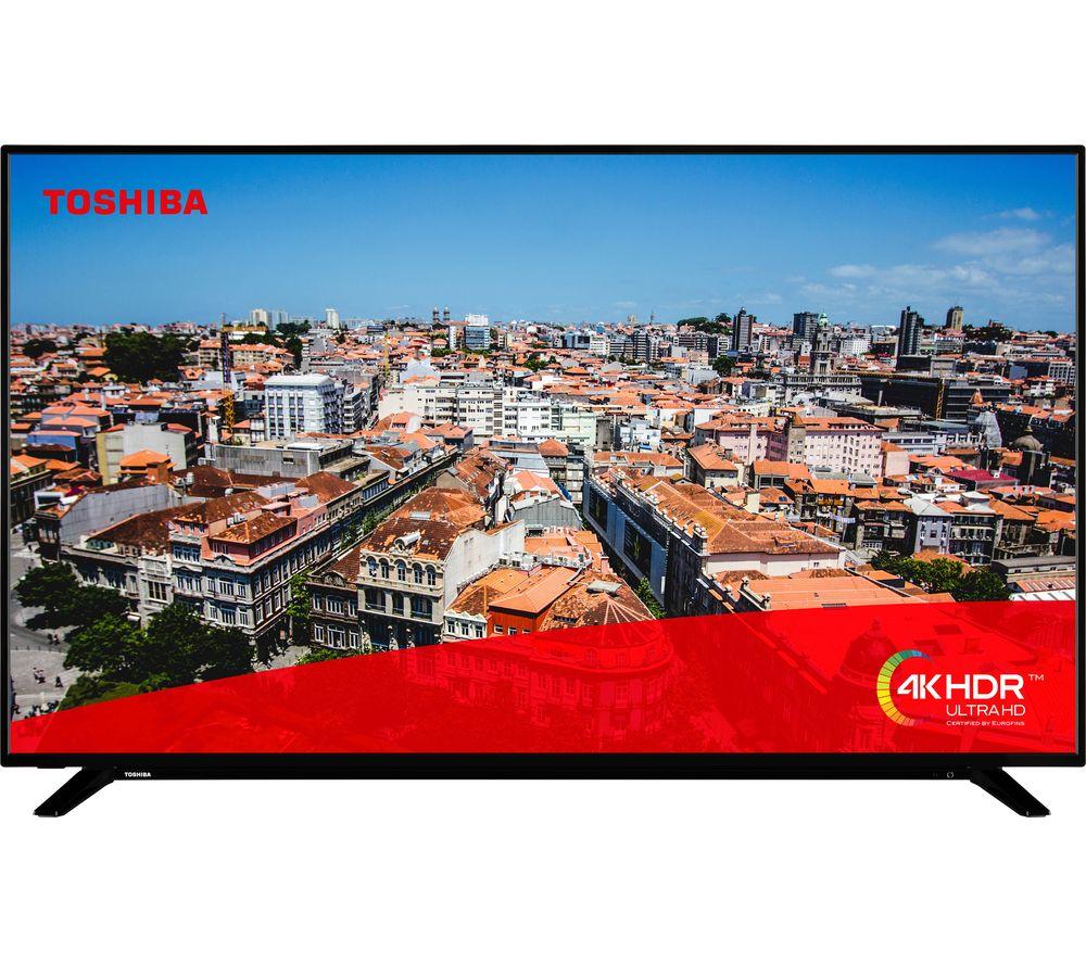 "TOSHIBA 50U2963DB 50"" Smart 4K Ultra HD HDR LED TV"