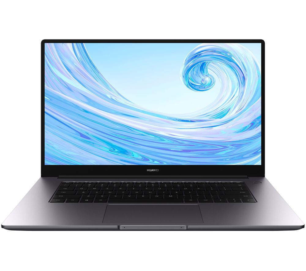 "Image of HUAWEI�MateBook D 15.6"" Laptop - AMD Ryzen 5, 256 GB SSD, Space Grey, Grey"