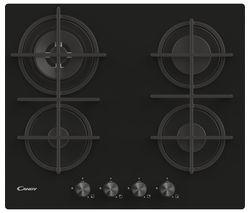 CDK6GR4PBB Gas Hob - Black