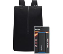 EPB004 Backpack with Power Bank - Black
