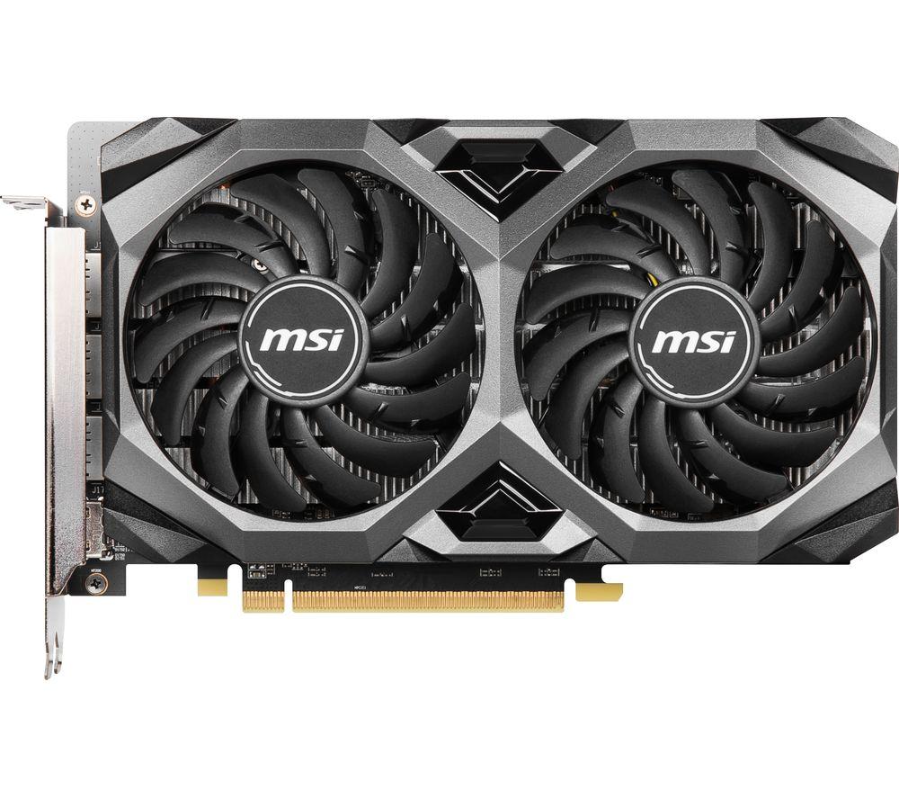 MSI Radeon RX 5500 XT 4 GB MECH OC Graphics Card