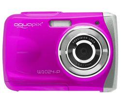 Splash W1024 Compact Camera - Pink