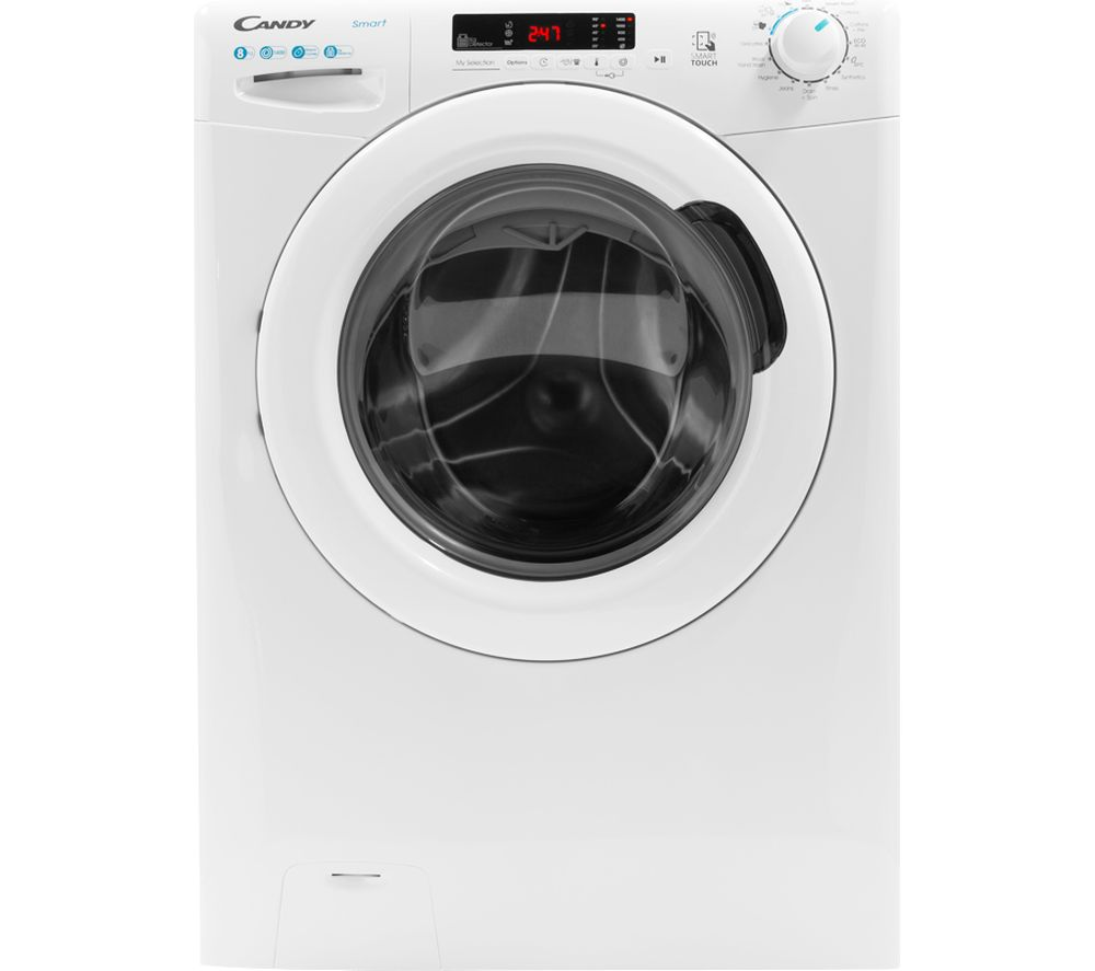 CANDY CS 1482DE NFC 8 kg 1400 Spin Washing Machine - White, White