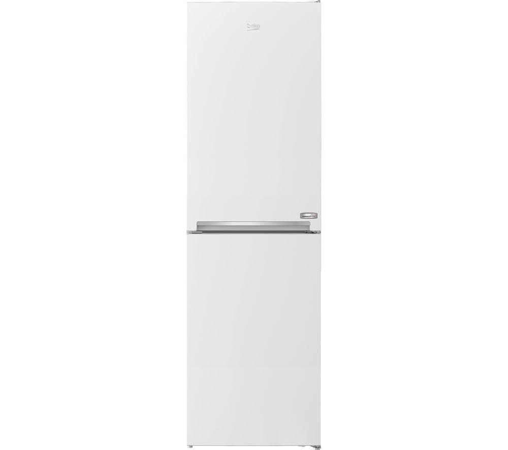 BEKO HarvestFresh CXFG3601VW 50/50 Fridge Freezer - White, White