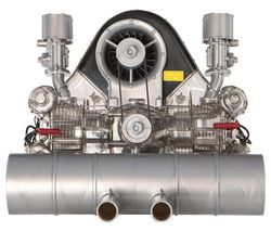 Porsche Carrera Racing Type 547 Engine Model Kit