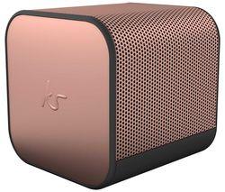 BoomCube Portable Bluetooth Speaker - Rose Gold