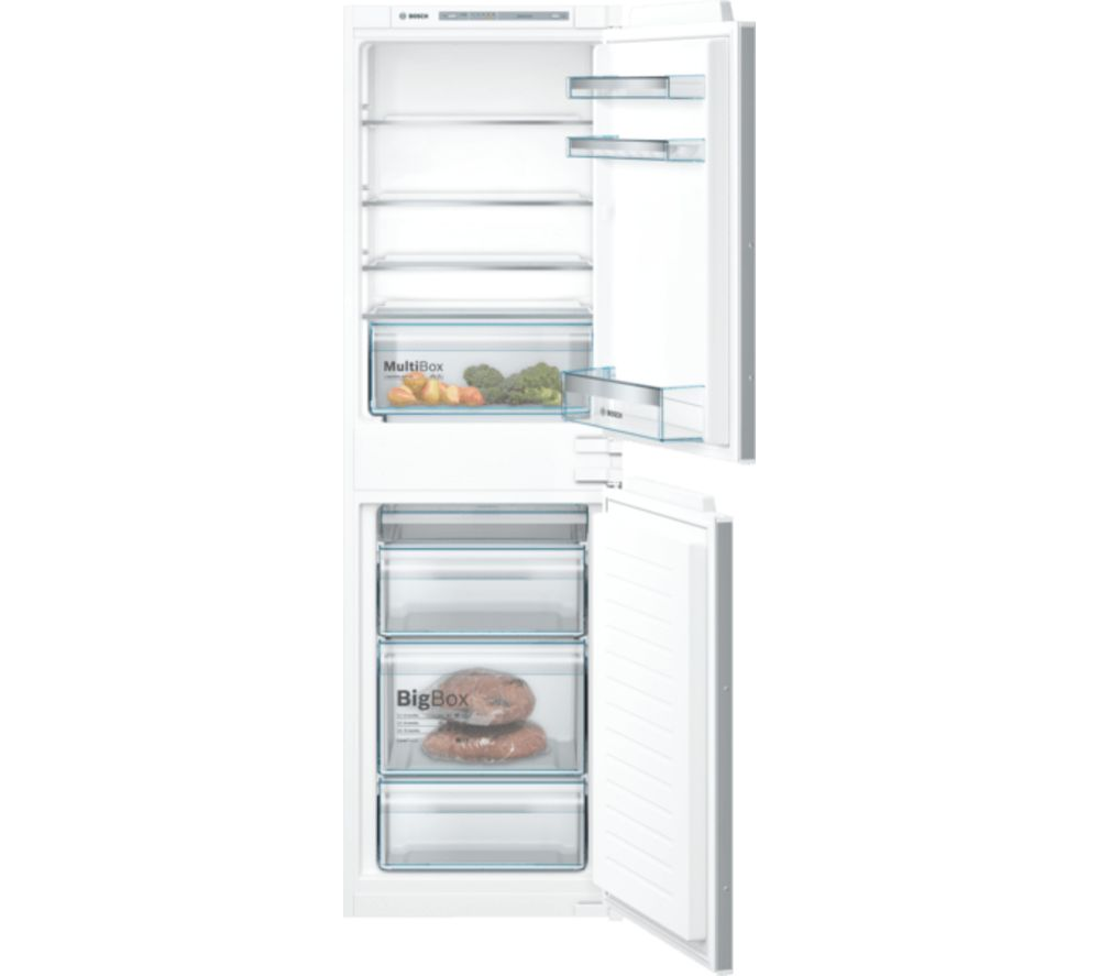 BOSCH Serie 4 KIV85VSF0G Integrated 50/50 Fridge Freezer - Sliding Hinge