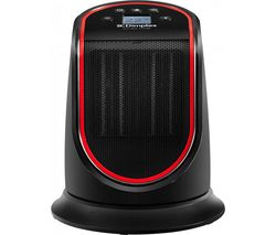 M2GTS Portable Hot & Cool Ceramic Fan Heater - Black & Red