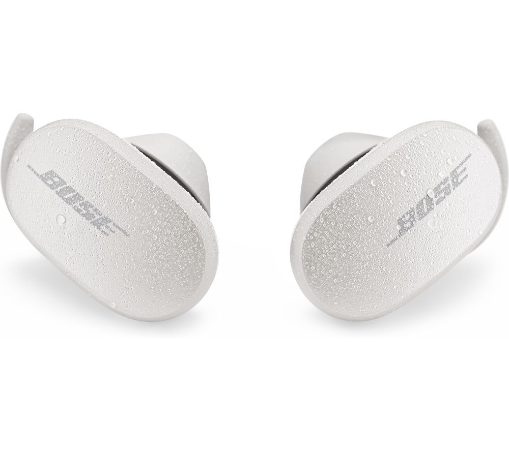BOSE QuietComfort Wireless Bluetooth Noise-Cancelling Earbuds - Soapstone