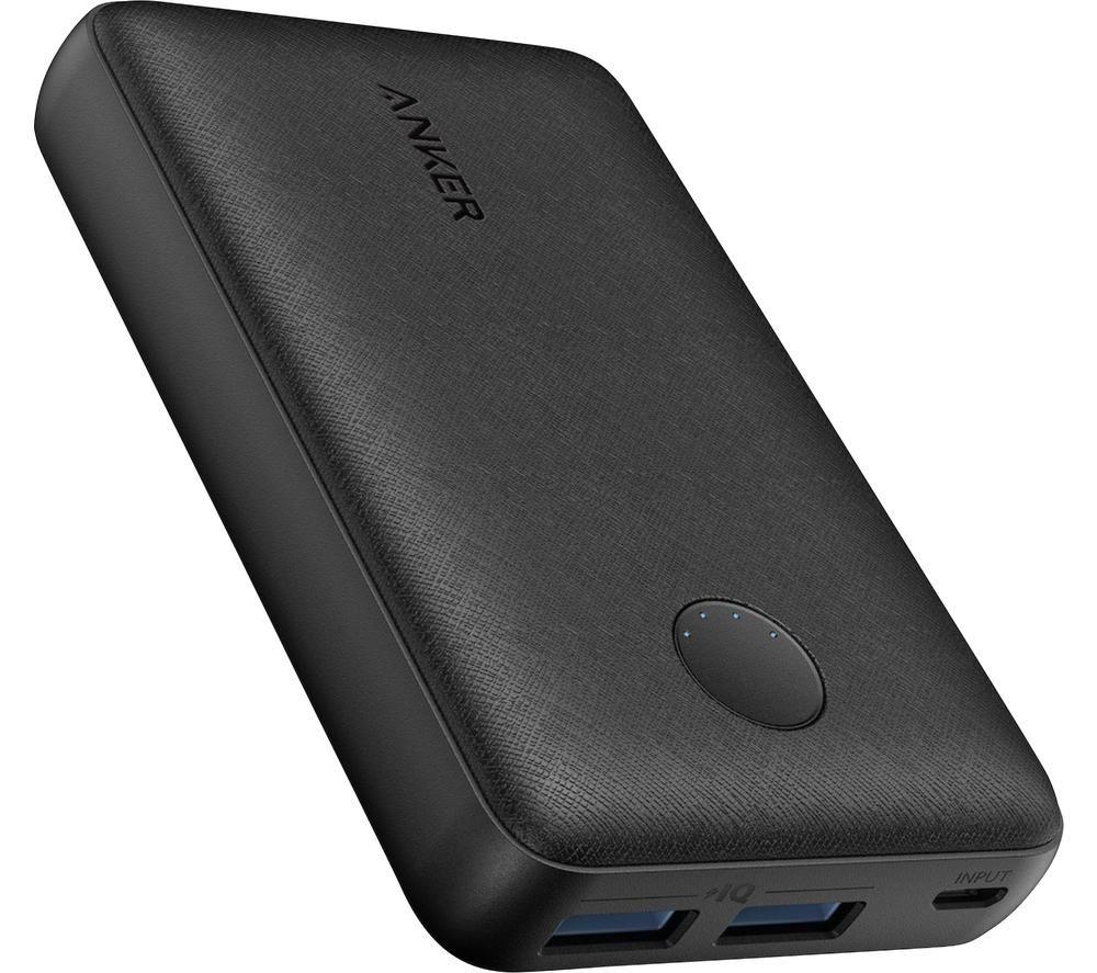 Image of ANKER PowerCore Select 10000 Portable Power Bank - Black, Black