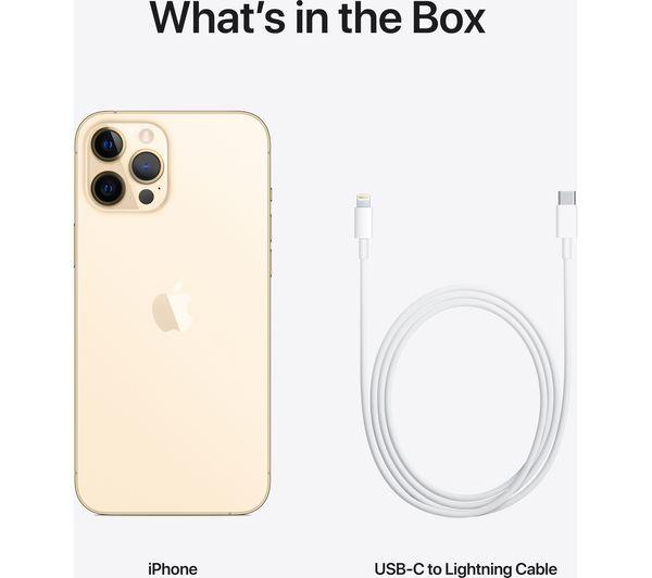 Apple iPhone 12 Pro Max - 128 GB, Gold 9