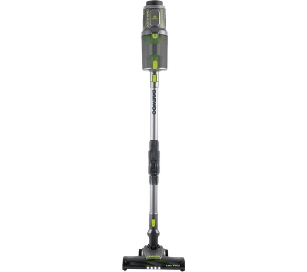 DAEWOO Cyclone Digi-Pro FLR00041 Cordless Vacuum Cleaner - Grey & Green