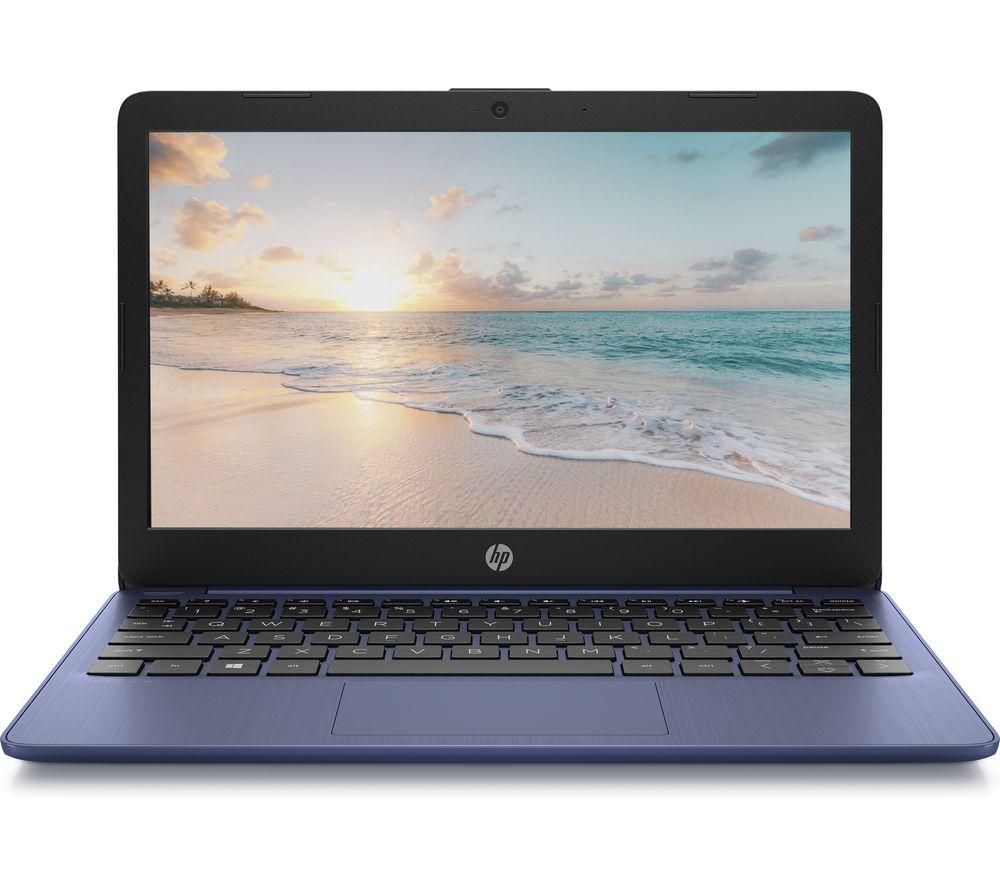 """HP Stream 11-ak0507sa 11.6"""" Laptop - Intel® Celeron™, 32 GB eMMC, Blue"""