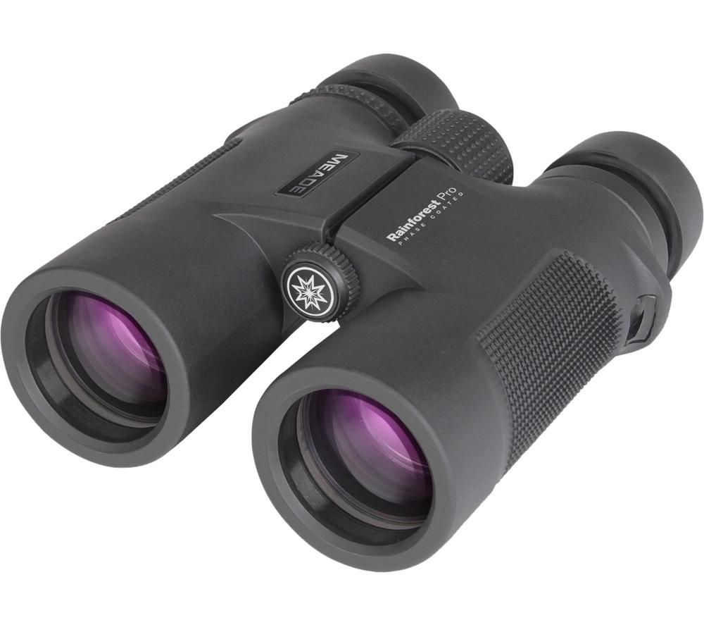 MEADE Rainforest Pro 8 x 42 mm Binoculars - Black, Black