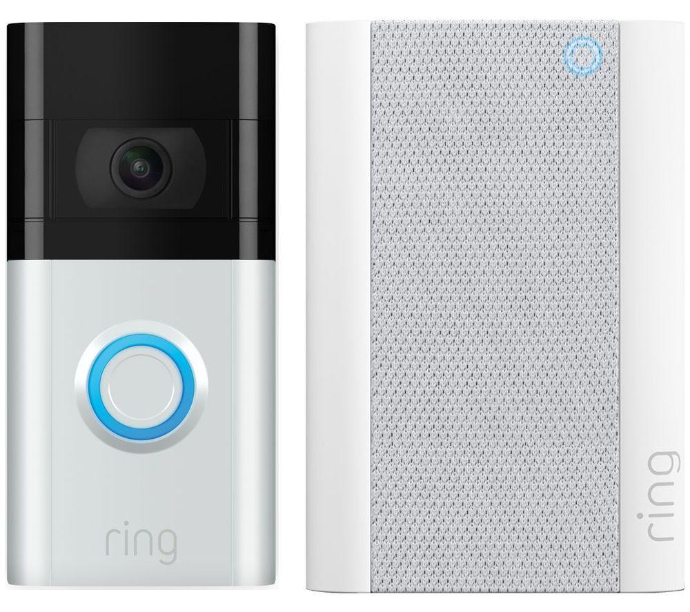 RING Video Doorbell 3 & Chime Pro (2nd Gen) Bundle