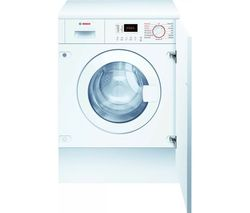 Serie 4 WKD28352GB Integrated 7 kg Washer Dryer