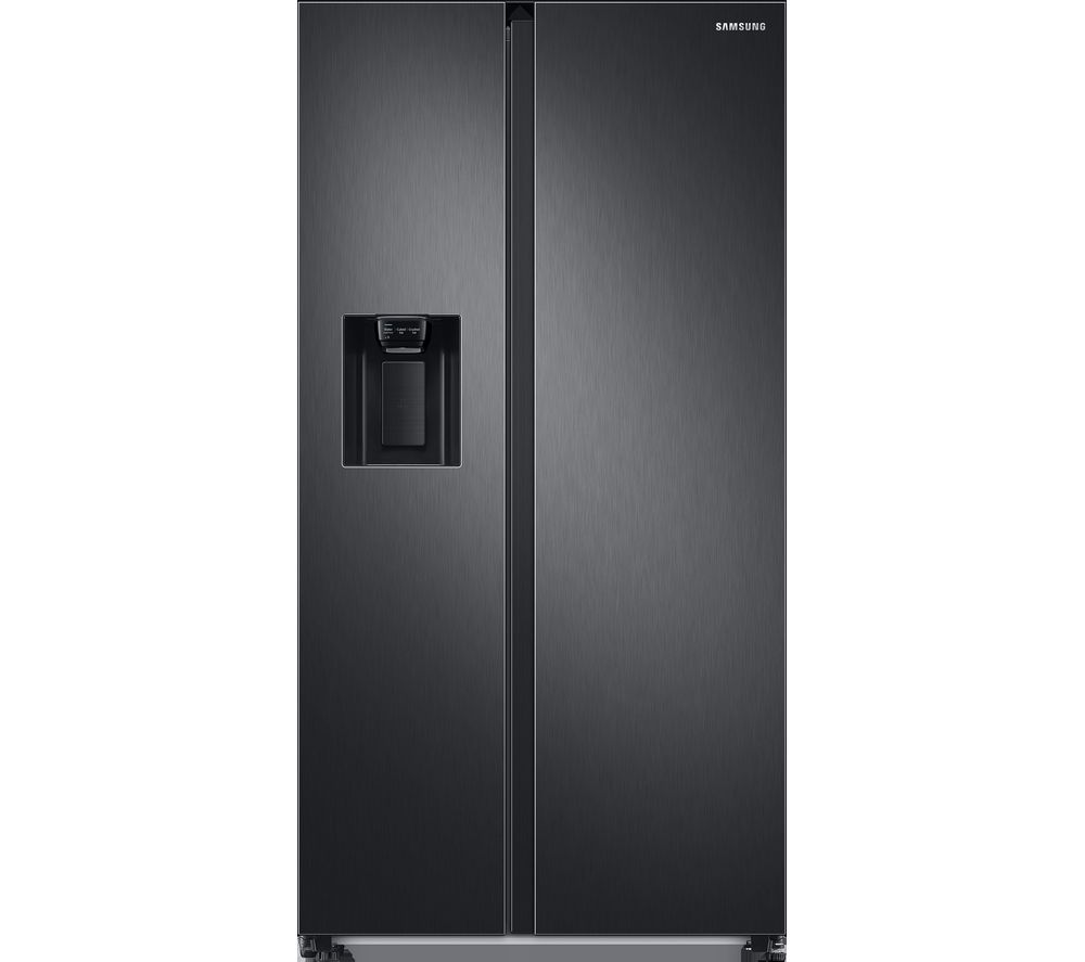 SAMSUNG RS8000 RS68A8840B1/EU American-Style Fridge Freezer - Black Stainless Steel, Stainless Steel