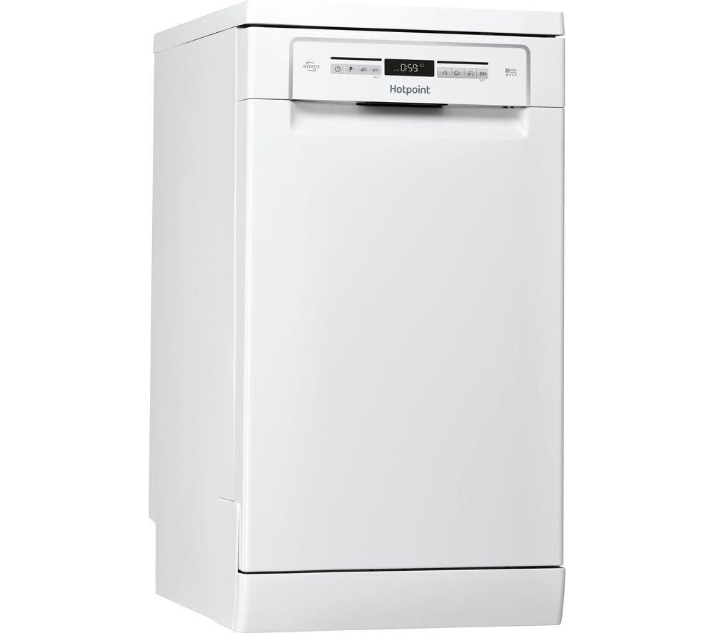HOTPOINT HSFO 3T223 W UK N Slimline Dishwasher - White
