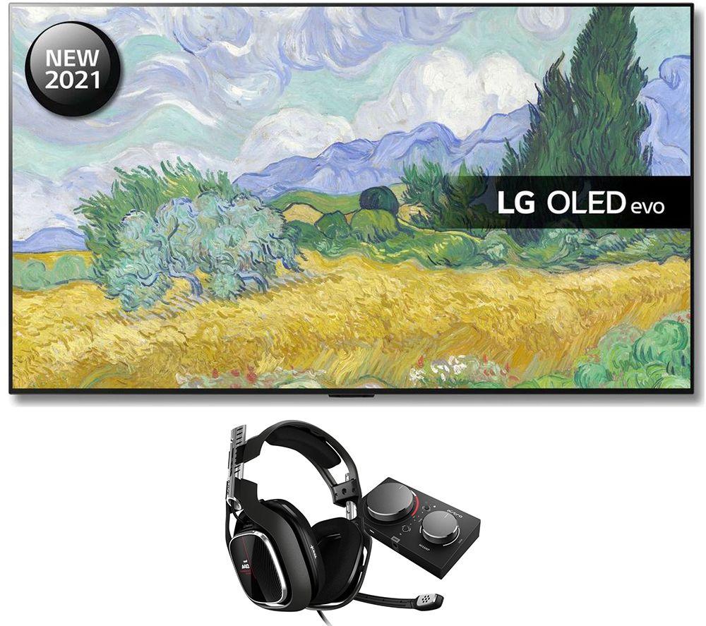 """Image of 55"""" LG OLED55G16LA Smart 4K TV, Astro Gaming Headset & MixAmp Pro Bundle"""