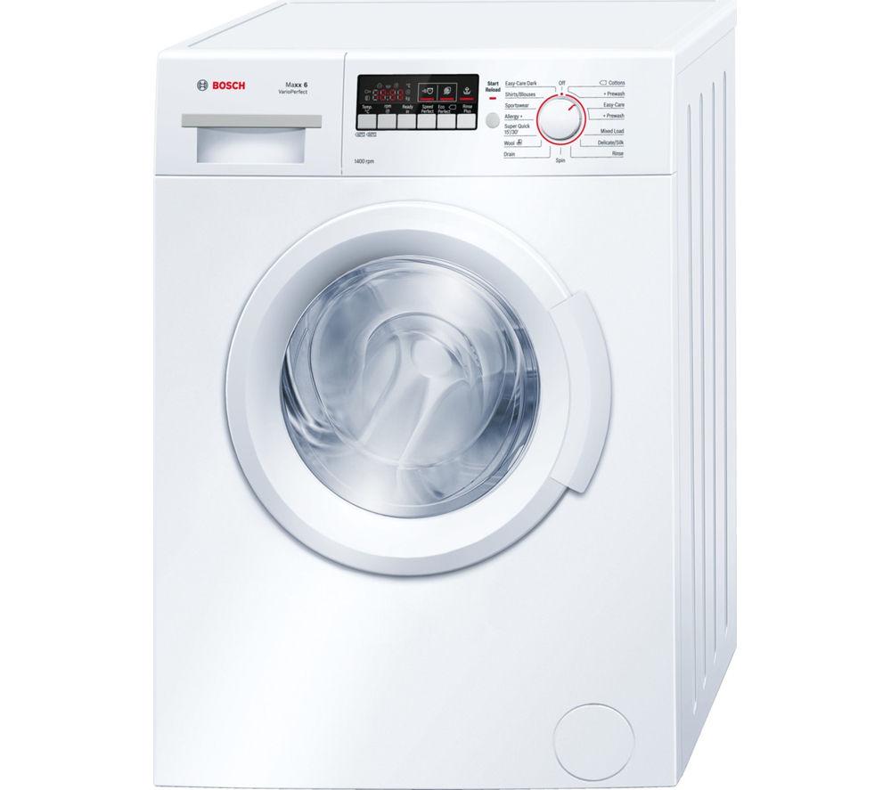 Image of BOSCH WAB28261GB Washing Machine - White, White
