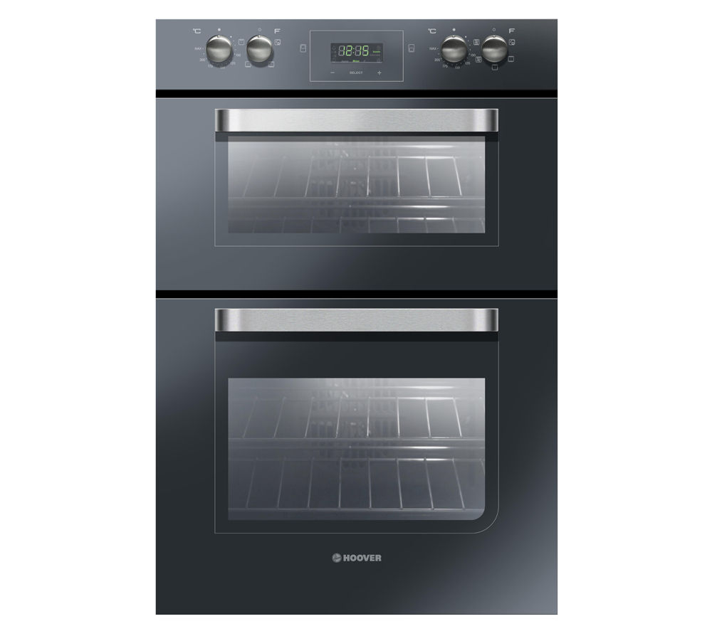 HOOVER HDO906NX Electric Double Oven - Black