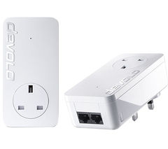 DEVOLO dLAN 550 duo+ Powerline Adapter Kit - Twin Pack