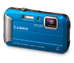 Lumix DMC-FT30EB-A Tough Compact Camera - Blue