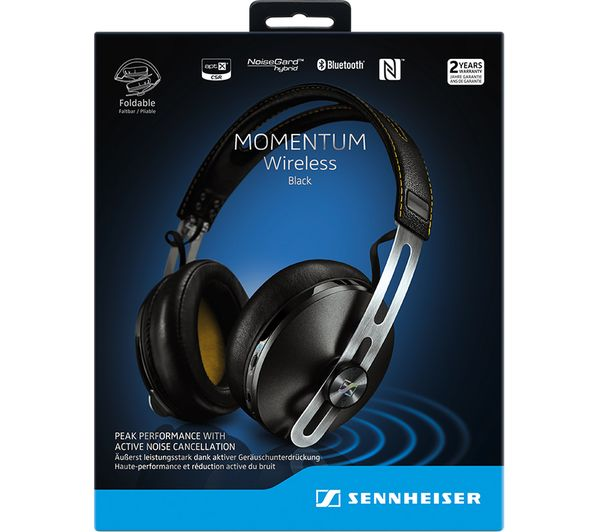 SENNHEISER Momentum 2 0 A/E Wireless Bluetooth Headphones - Black