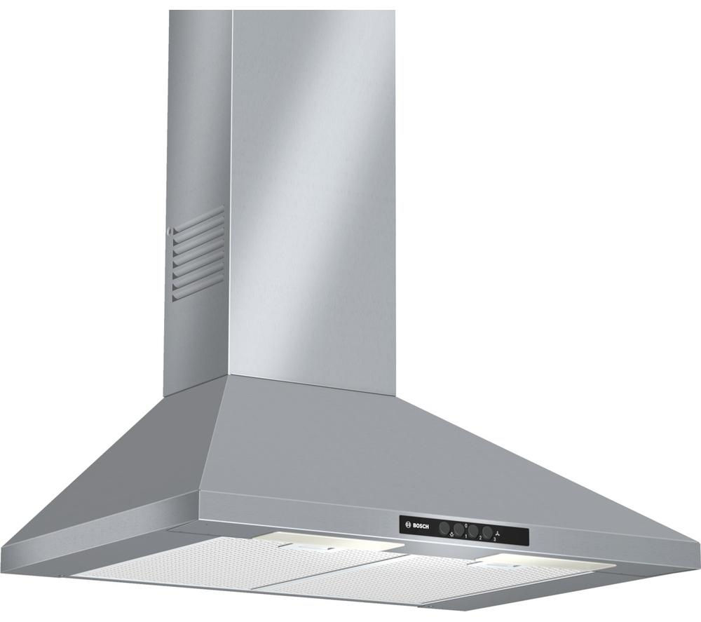 BOSCH Classixx DWW07W450B Chimney Cooker Hood - Stainless Steel