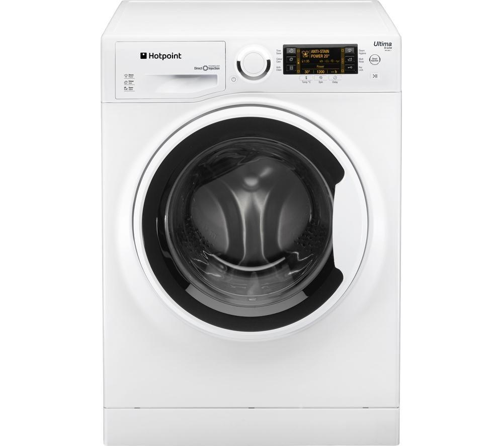 HOTPOINT Ultima S-line RPD9467J Washing Machine - White