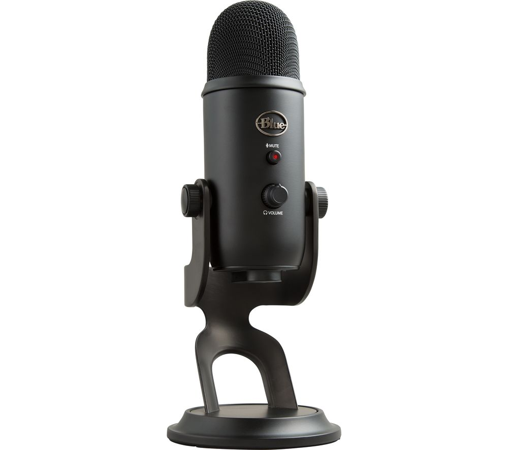 Image of BLUE Yeti Professional USB Microphone - Black, Blue