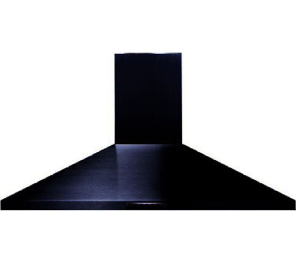 BELLING UH100B Chimney Cooker Hood - Black