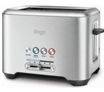 SAGE by Heston Blumenthal A Bit More 2-Slice Toaster - Silver